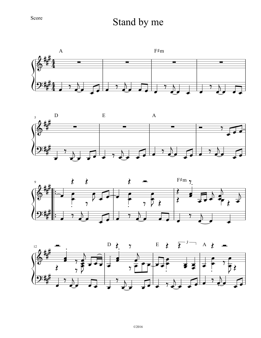Stand by me (4 the cause) fingerstyle guitar tab best guitar tabs.