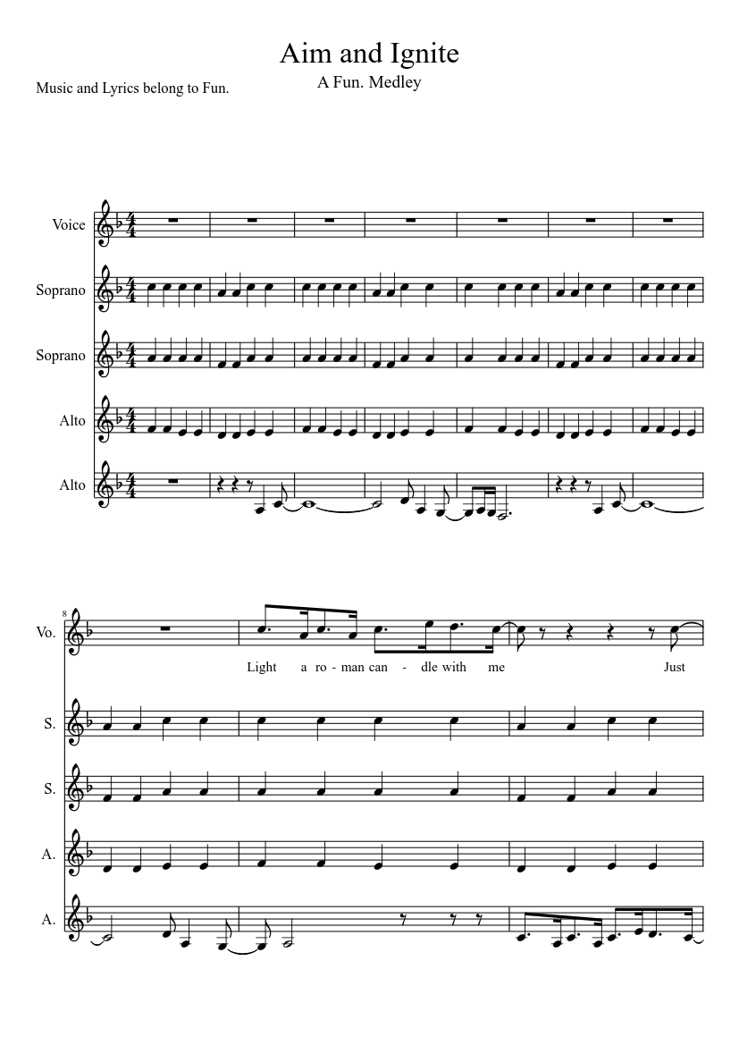 Imagine dragons ready, aim, fire sheet music for piano download.