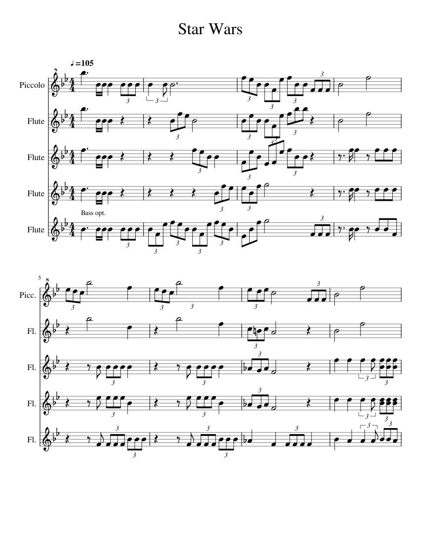 star wars flute notes - Ataum berglauf-verband com
