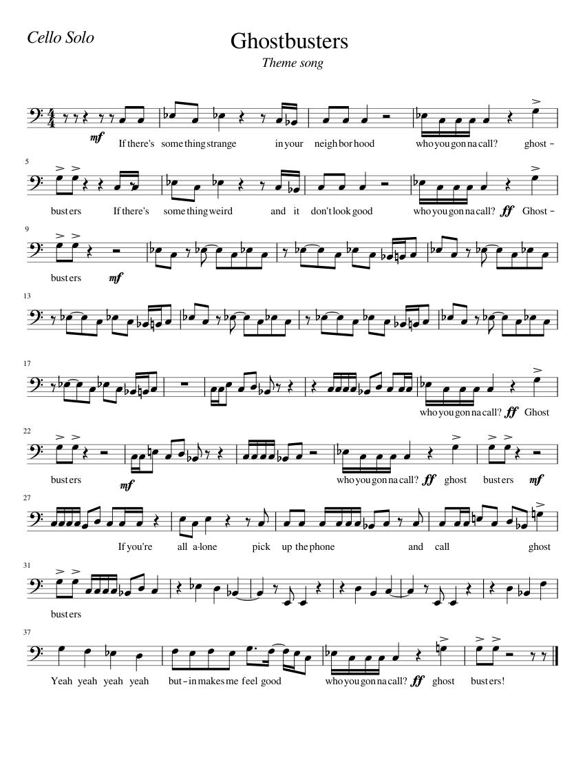 Ghostbusters original theme song download | instrumentalfx.