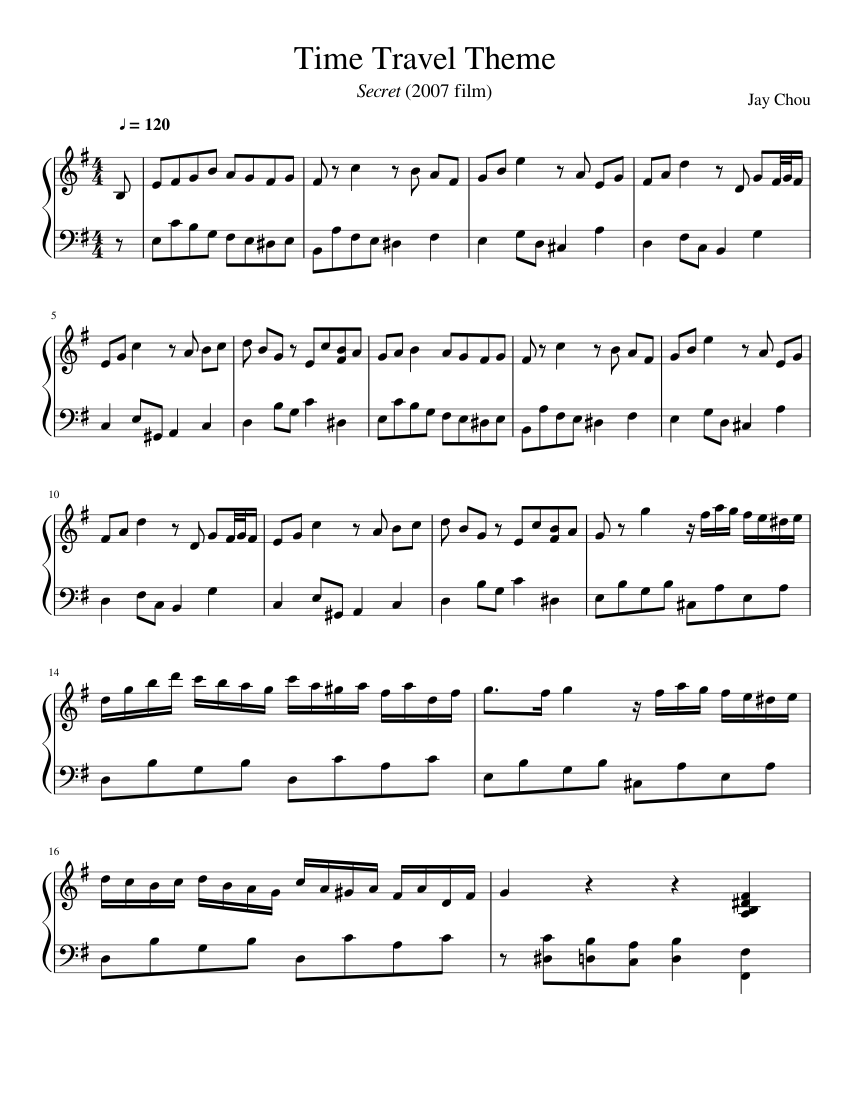 Sheet music and scores