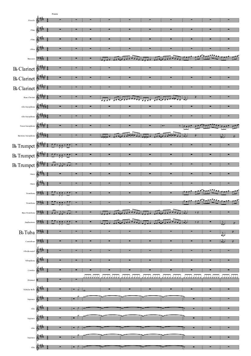 Resonance(soul eater opening 1) sheet music for piano download.