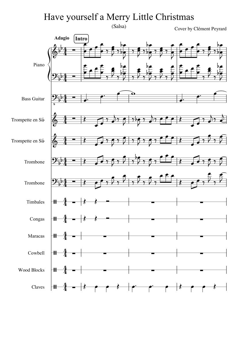 Have Yourself A Merry Little Christmas Sheet Music Pdf.107 Piano Sheet Music Have Yourself A Merry Little