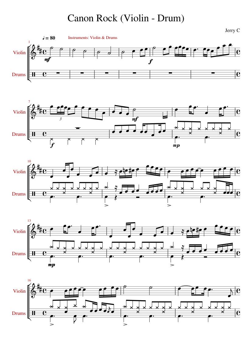 Canon rock violin mp3 free download.