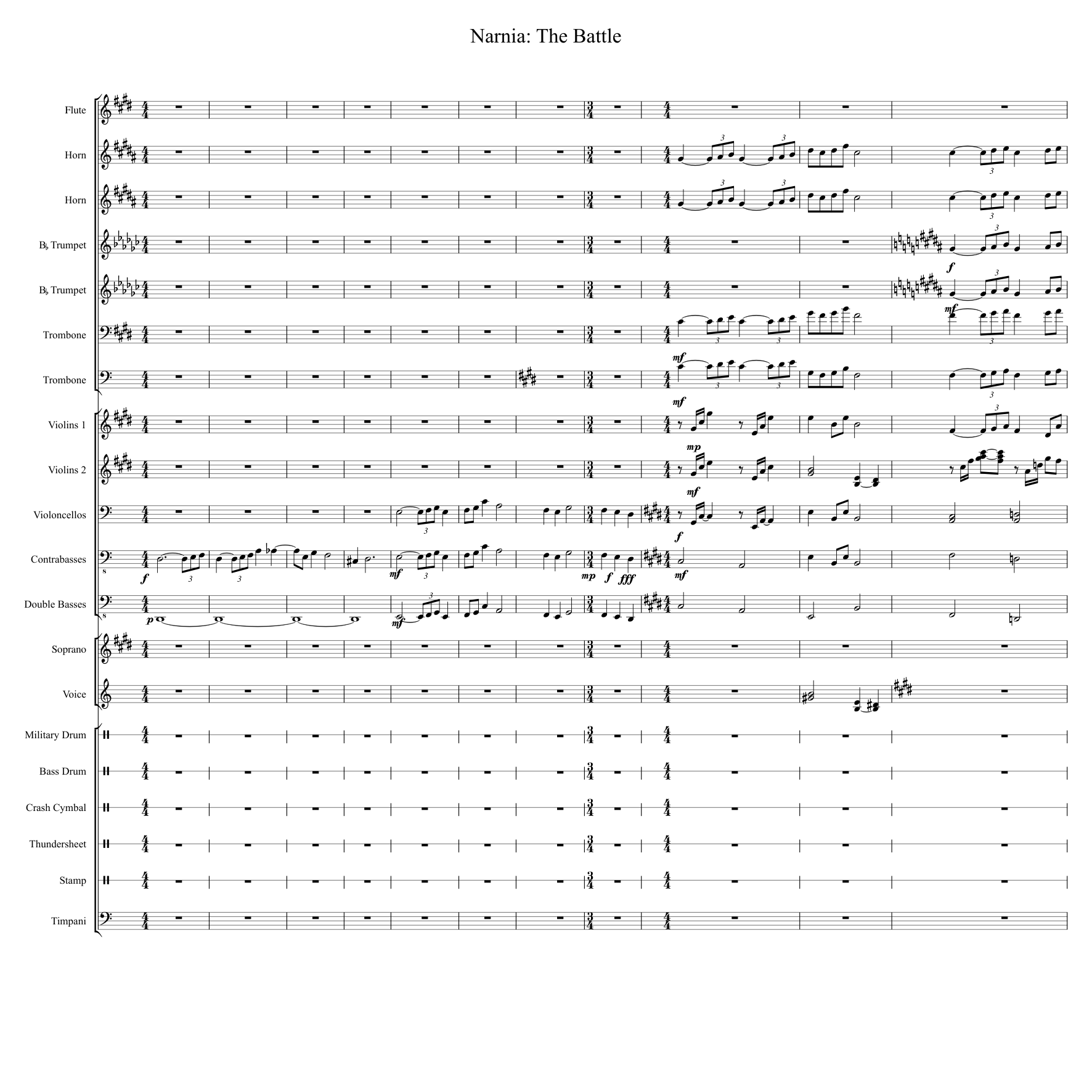 Narnia: the battle piano solo sheet music for piano download free.
