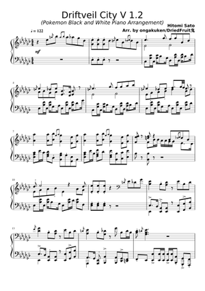 Sheet Music Musescore Com Find the latest tracks, albums, and images from driftveil city (ost driftveil city (ost version). sheet music musescore com