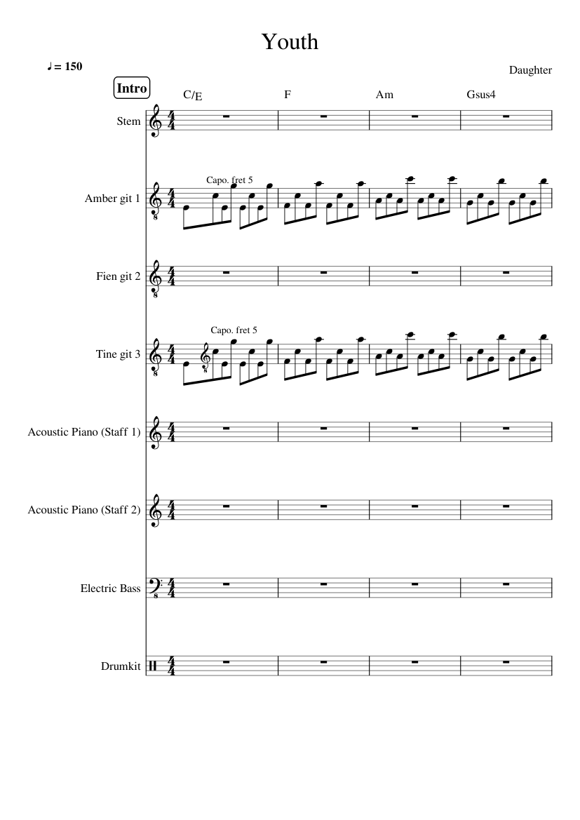 Forevermore Fingerstyle Tabs Pdf