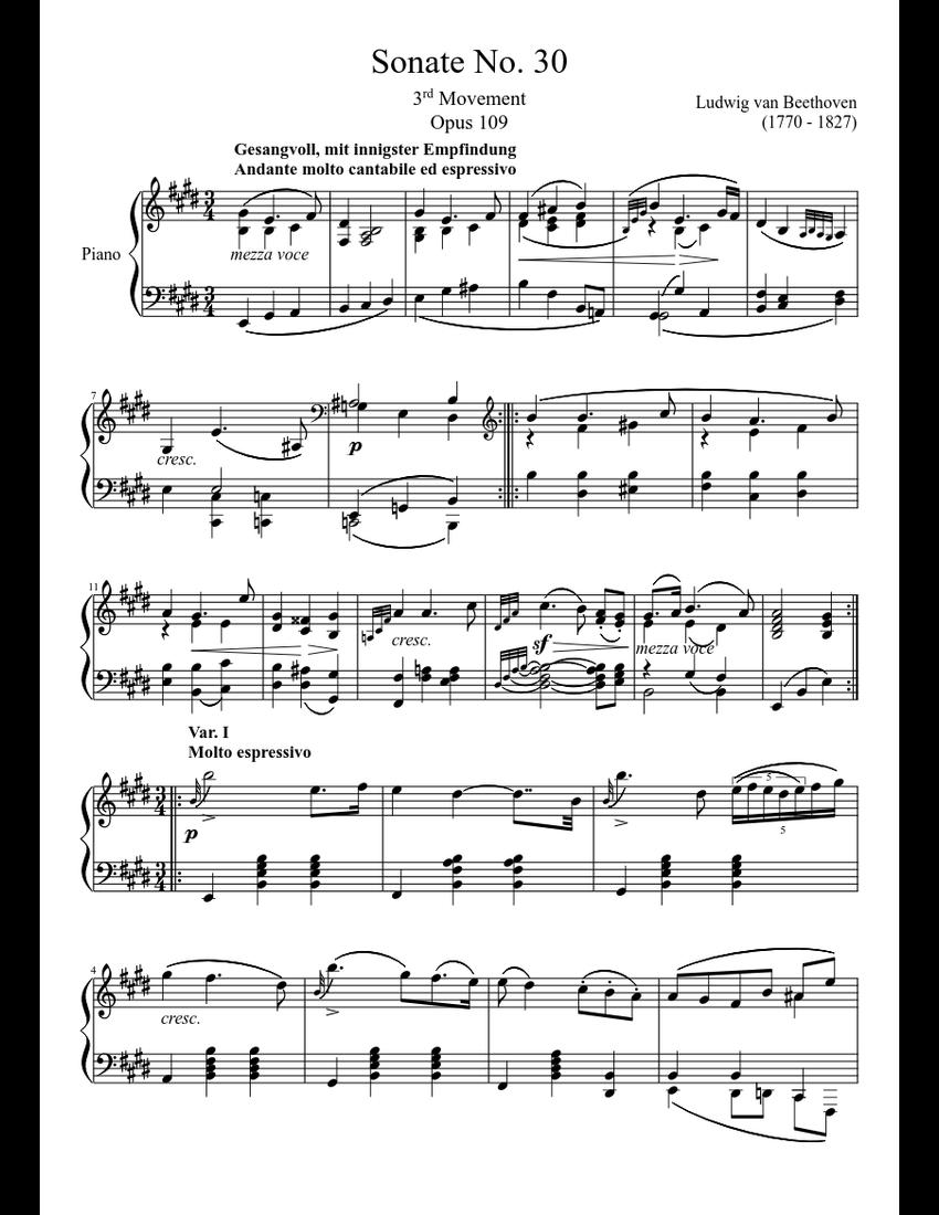 Volume III Nos. 15-20 Piano Sonatas Sheet music