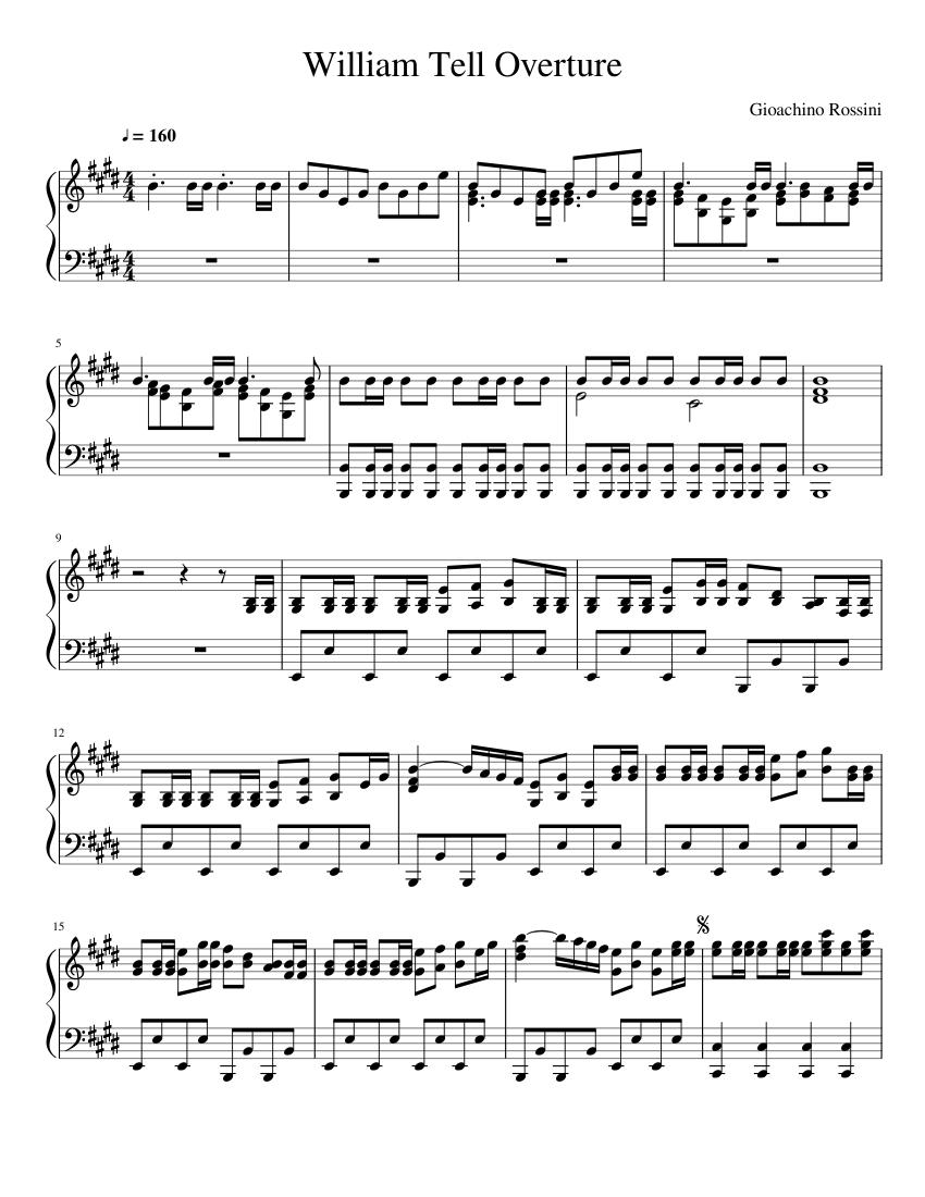 william tell 1812 overture