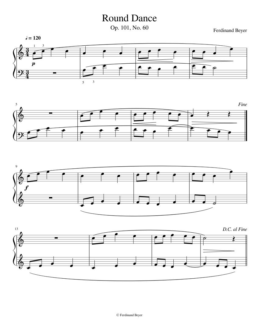 Beyer piano book pdf download.