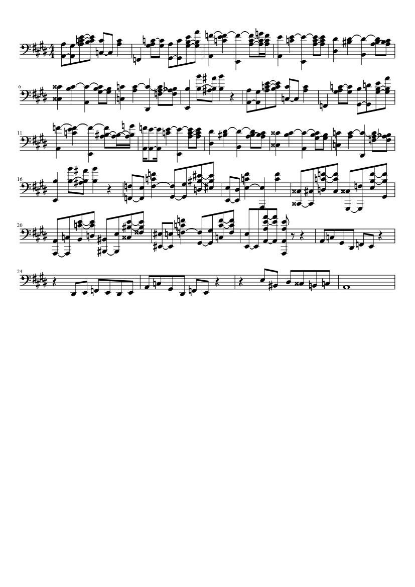 luigi s mansion 2 dark moon gloomy manor sheet music for piano