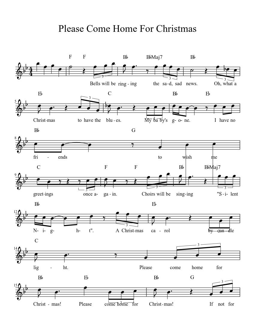 Free Christmas Sheet Music S Pdf