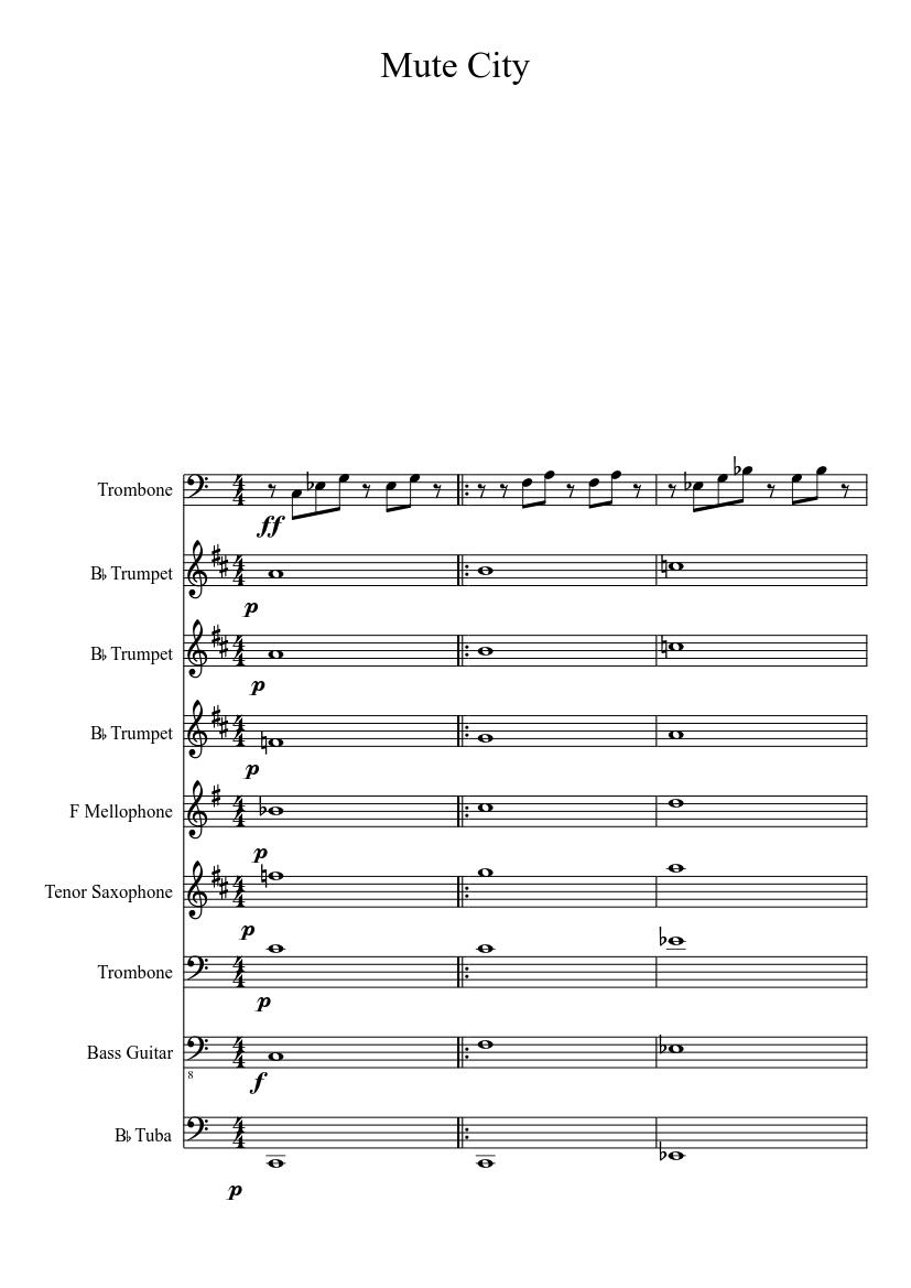 musescore mute trumpet