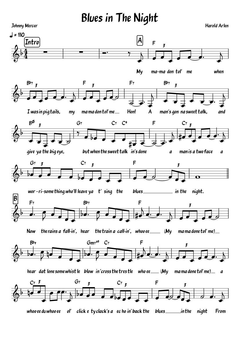 Sonny Clark Trio - Blues in the night - YouTube
