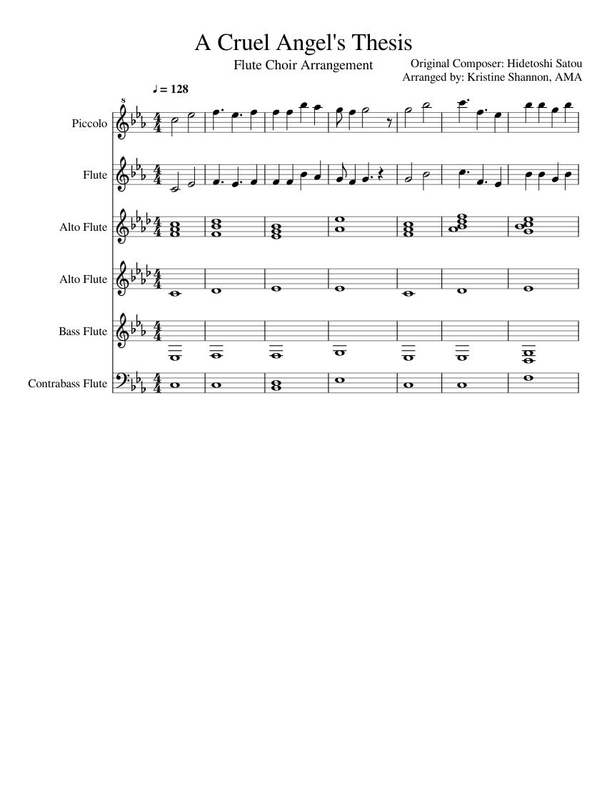 cruel angels thesis flute