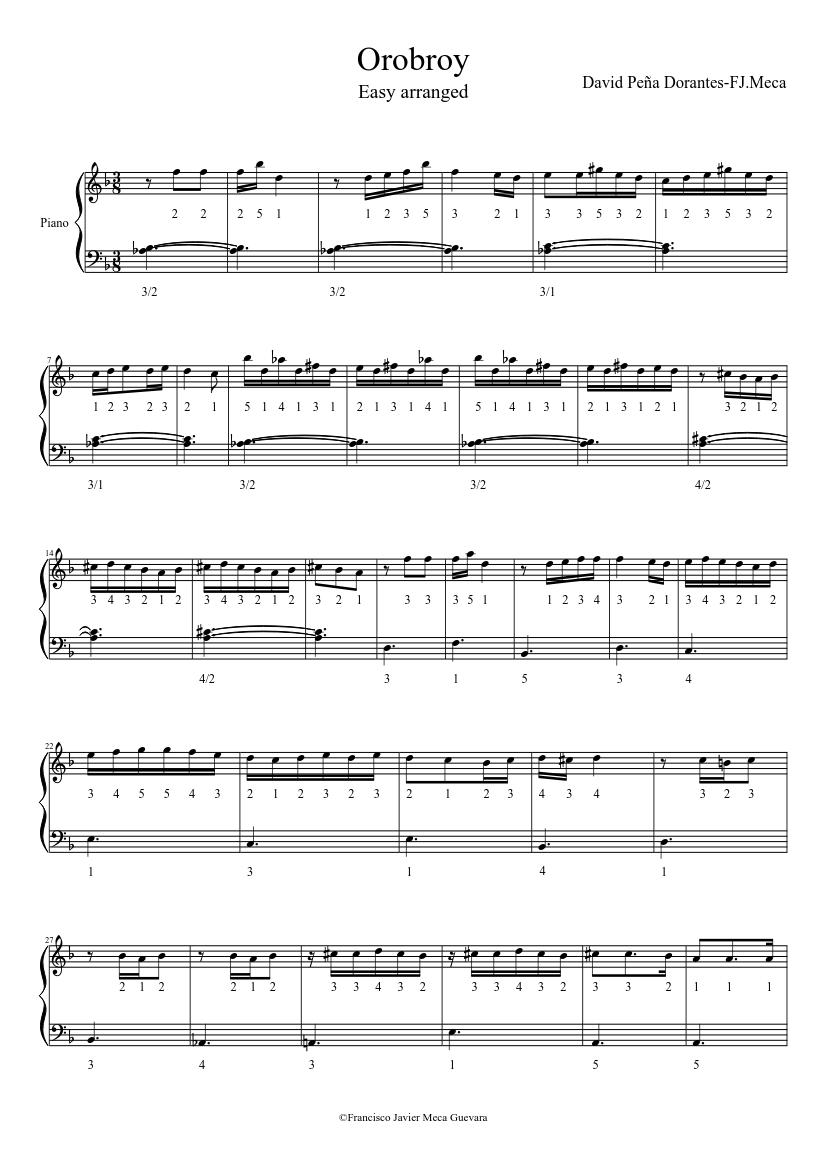 orobroy dorantes pdf piano