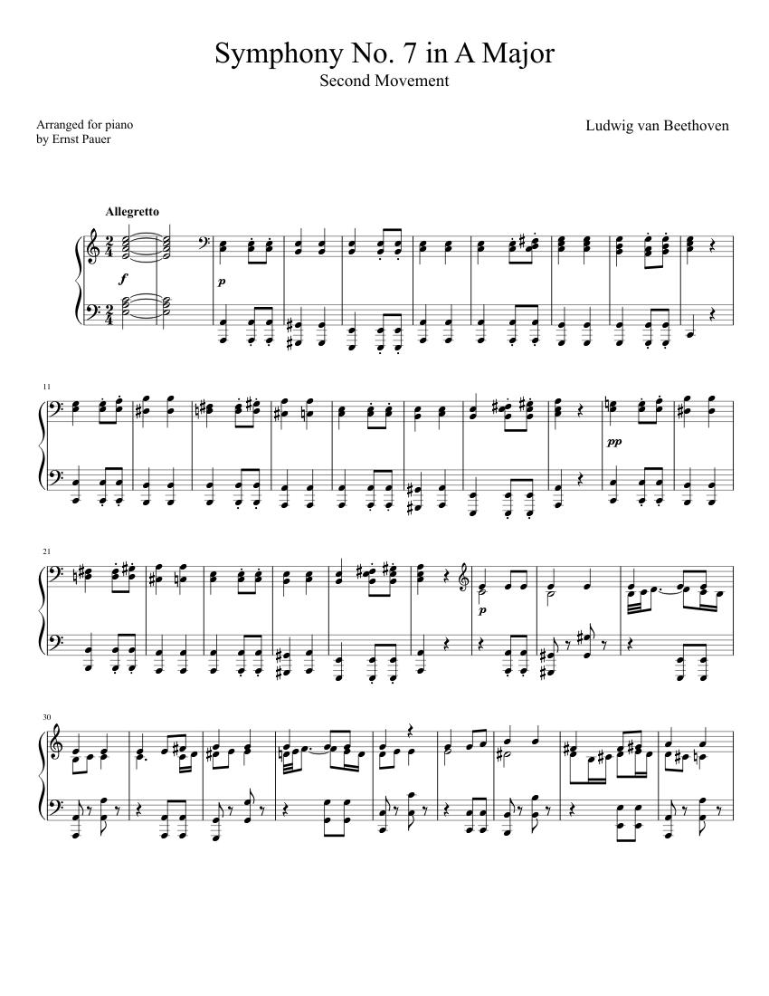 beethoven 7ème symphonie