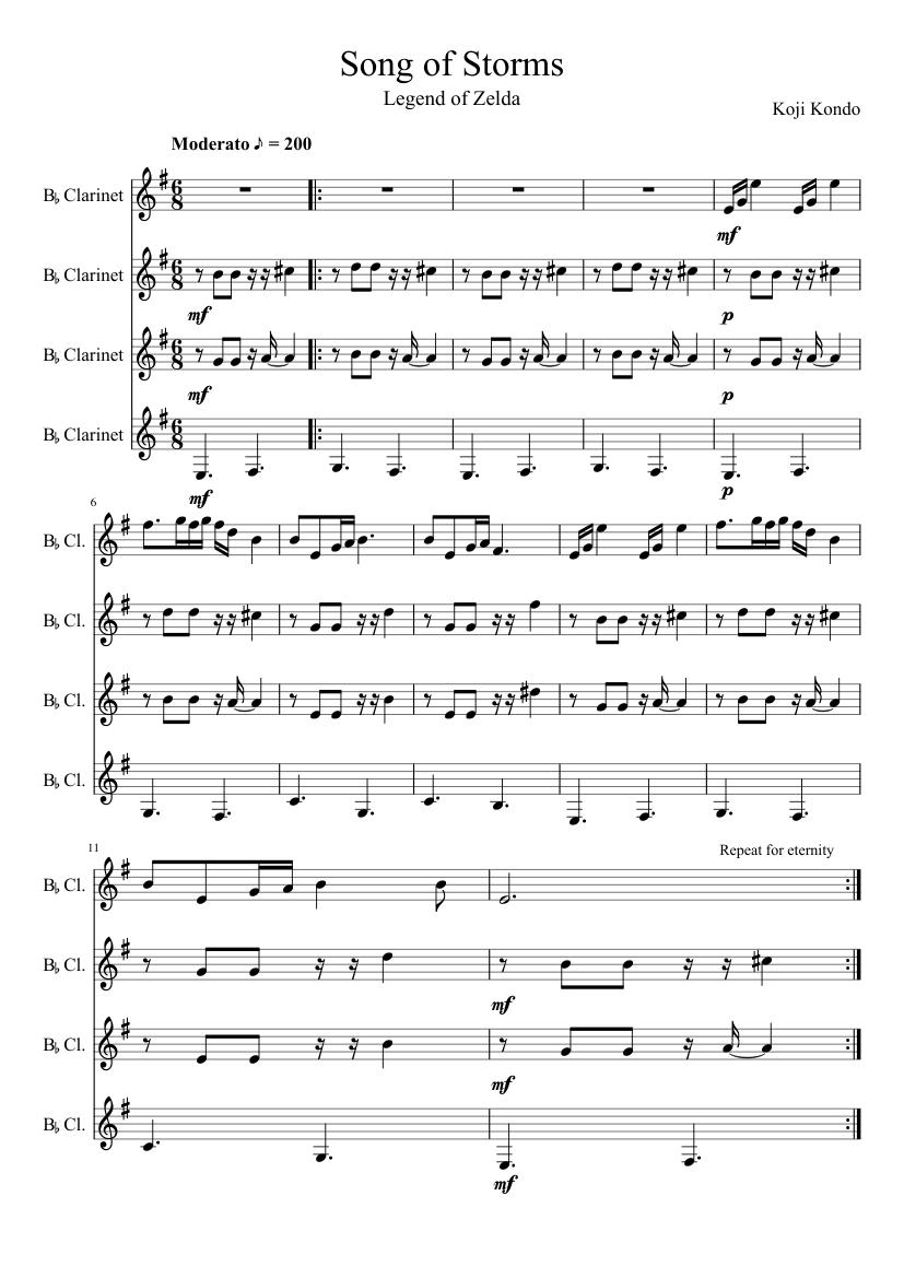 Top Five Clarinet Sheet Music Musescore - Circus