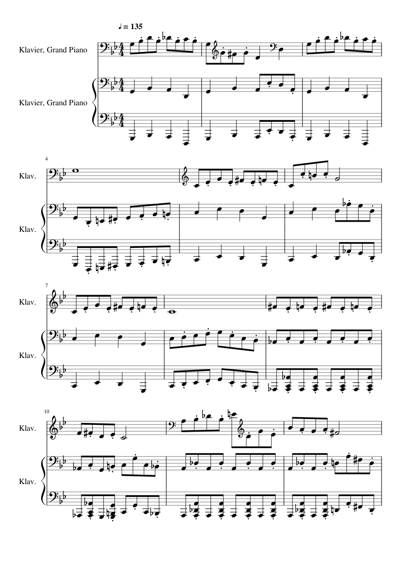 Luigi S Mansion Dark Moon Library Piano Sheet Music For