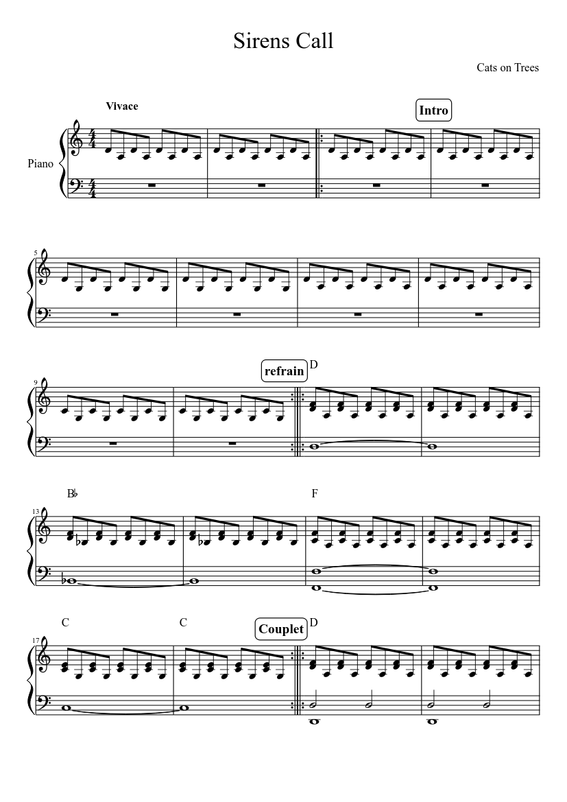 partitions musescore
