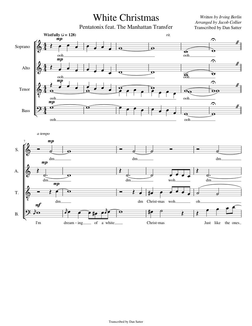 White Christmas - Pentatonix feat. The Manhattan Transfer (Complete ...