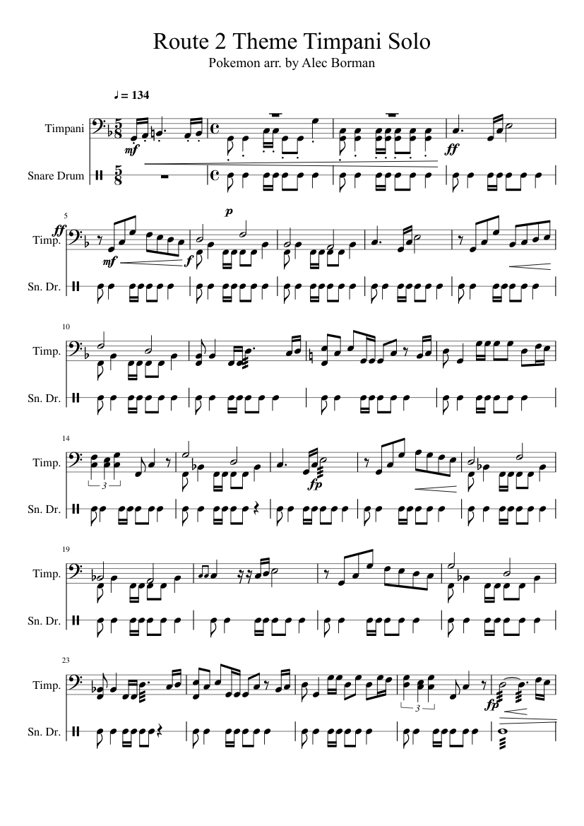 Mahler's symphony no 7 for 8 horns and timpani sheet music for.