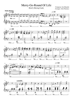joe hisaishi sheet music free download in pdf or midi on musescore.com  musescore.com