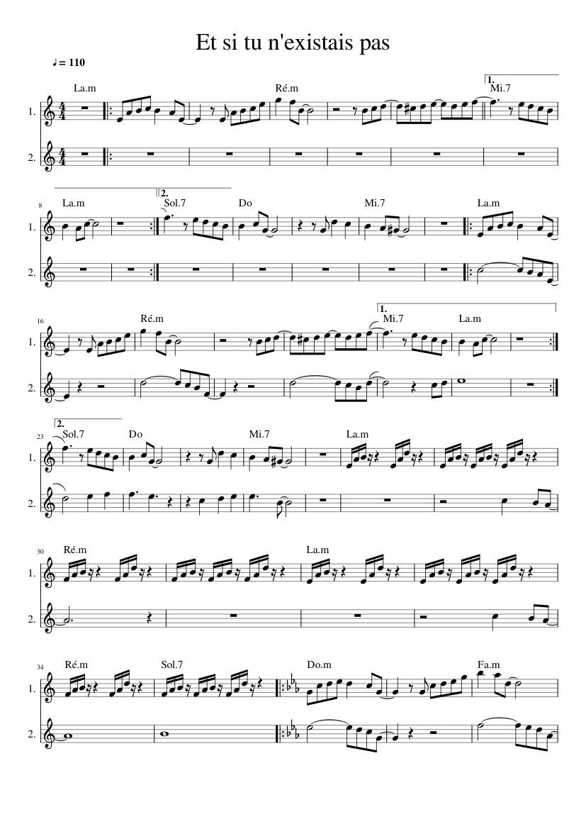 джо дассен салют ноты для фортепиано