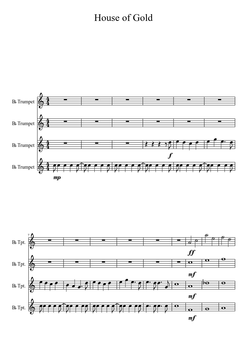score_0?no cache=1531731619 house of gold sheet music download free in pdf or midi