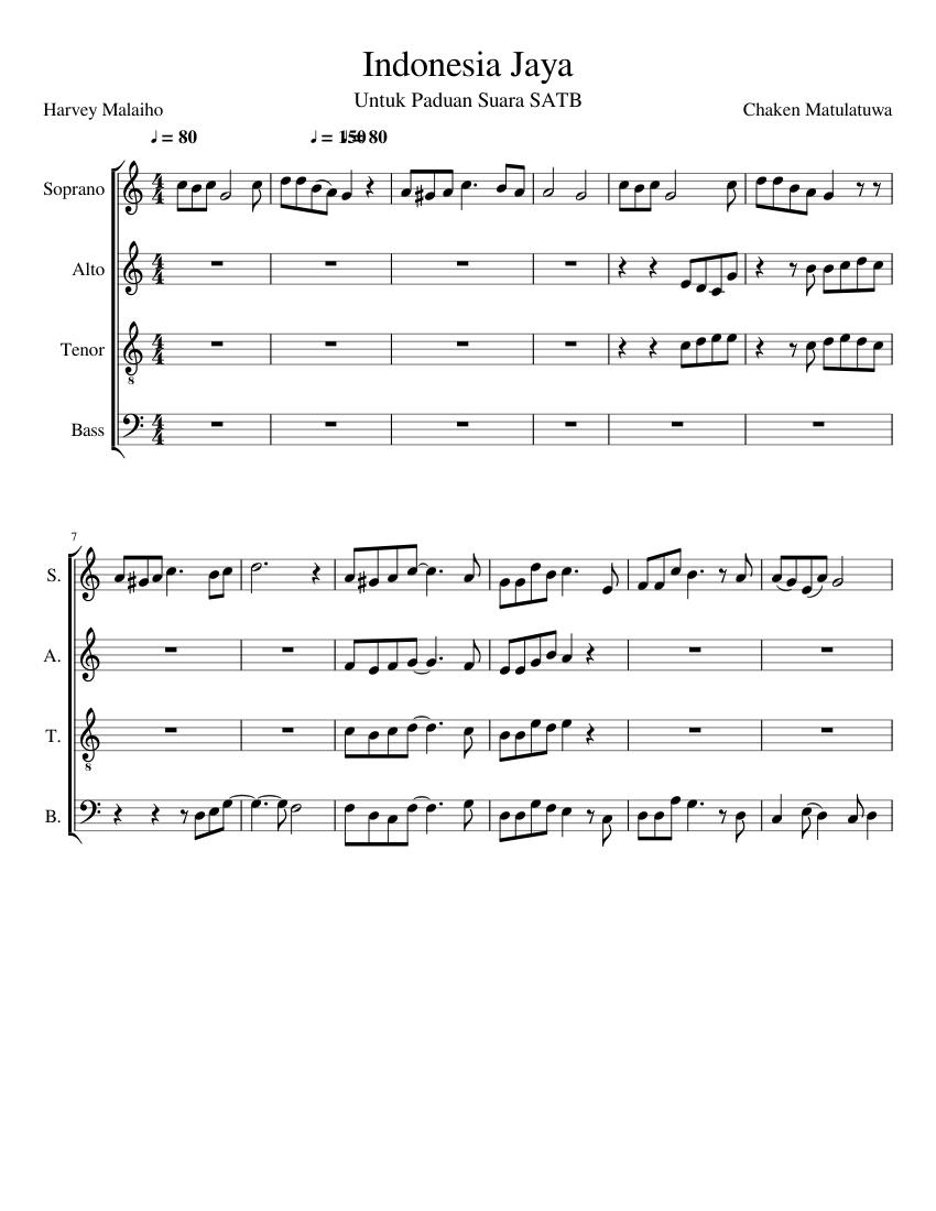 Indonesia jaya (lirik) lagu wajib nasional cipt. Chaken m youtube.