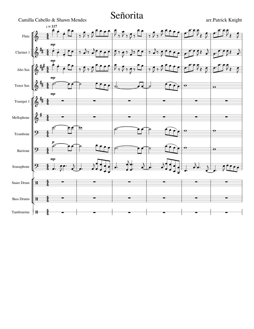 seniorita chords
