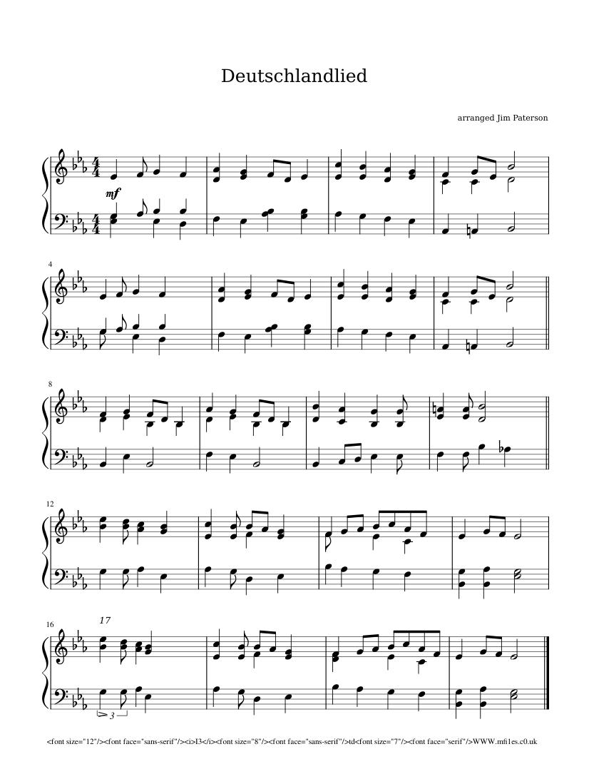 Deutschland Lied
