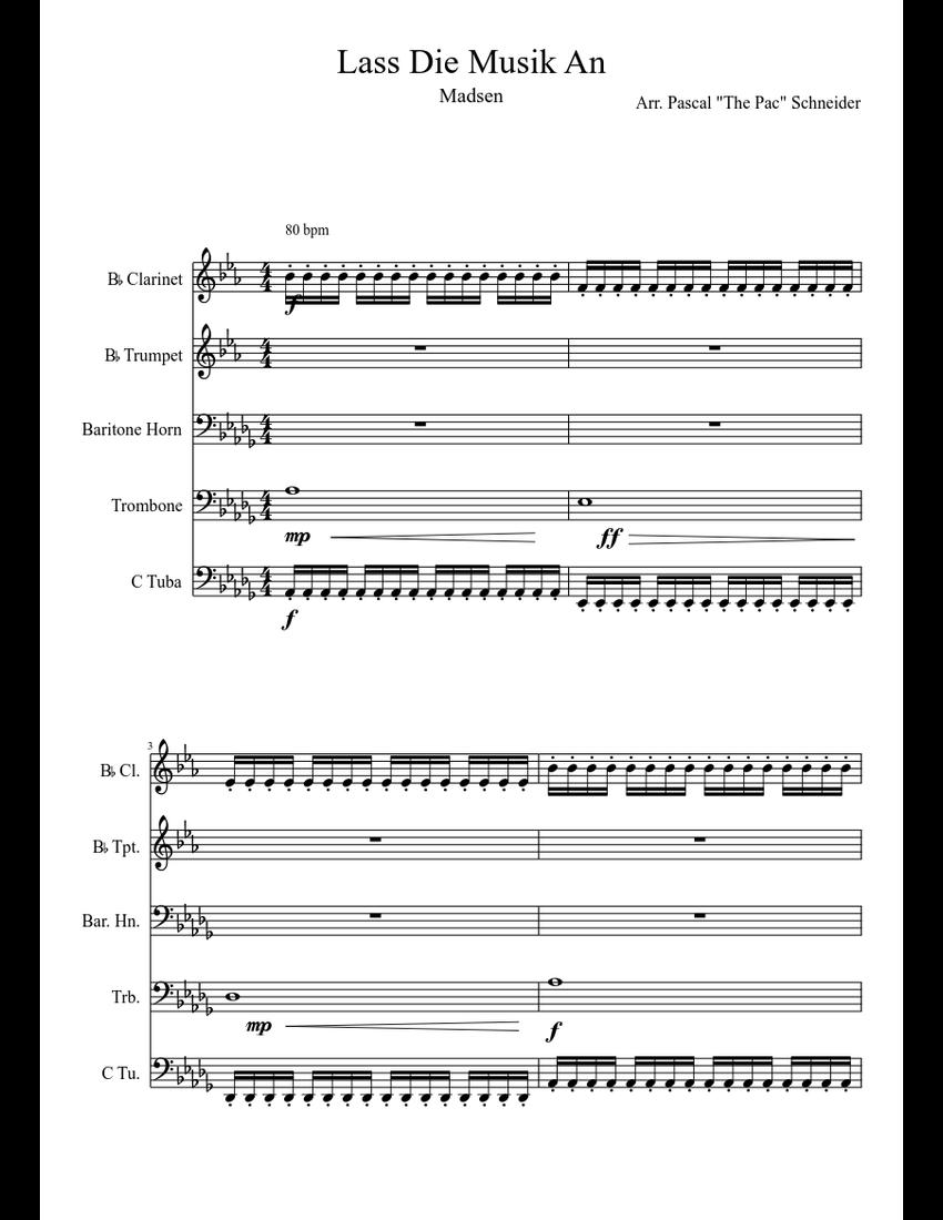 Lass Die Musik An Chords