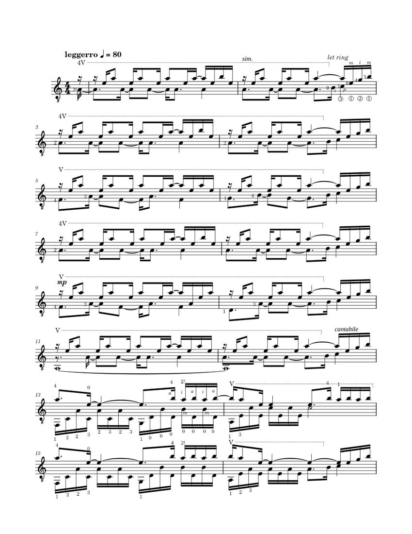 una mattina ludovico einaudi sheet music free