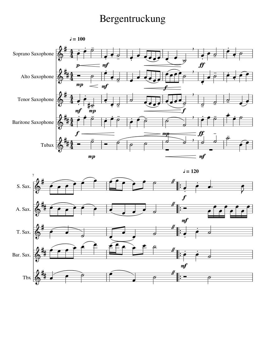 Rustic Fanfare - Alto Sax Trio By Phillip Rawle - Digital
