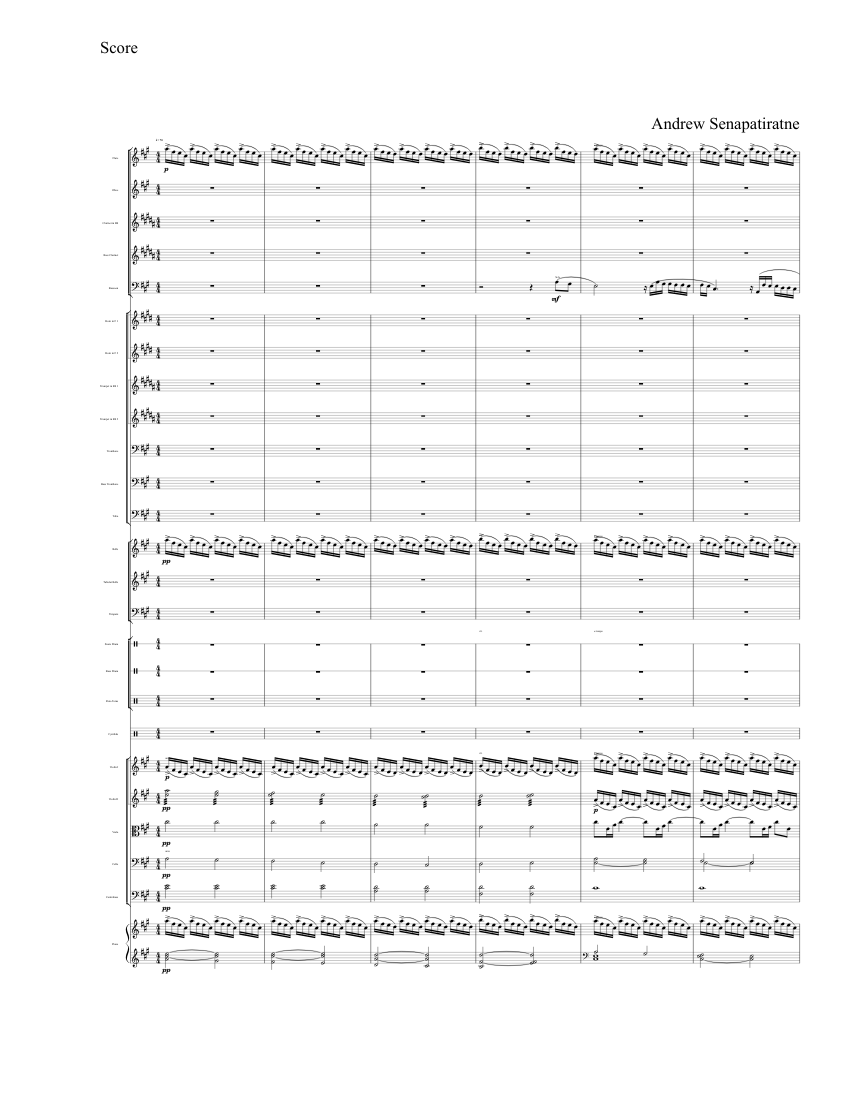 Les Miserables: One Day More, Instrumental sheet music