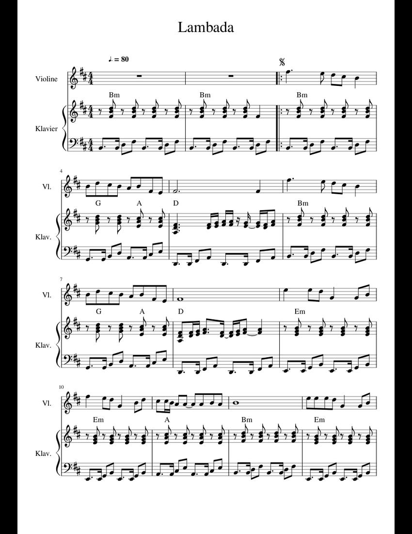 MUSICA LAMBADA SCARICARE
