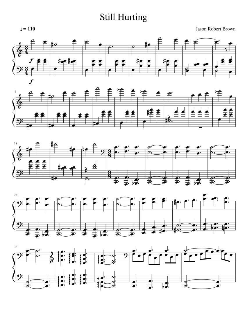 still hurting piano tutorial