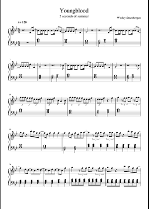 5 Seconds of Summer sheet music free download in PDF or MIDI