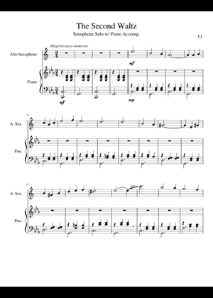 Dmitri Shostakovich sheet music free download in PDF or MIDI on