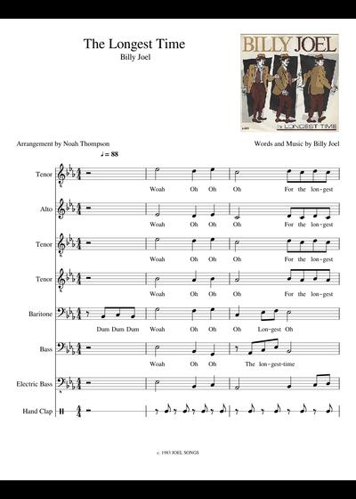 Felsebiyat Dergisi – Popular The Stranger Billy Joel Sheet