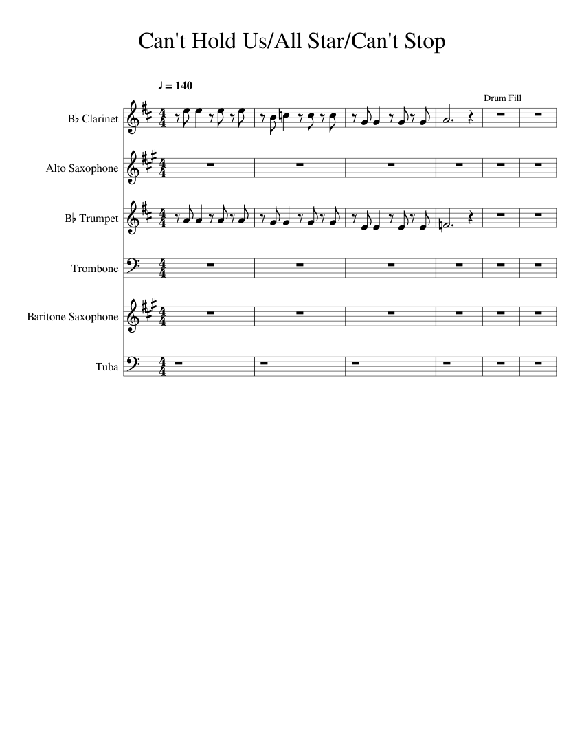 score_0@850x1100?no cachee=1531731790 can't hold us all starcan't stop sheet music for clarinet, alto