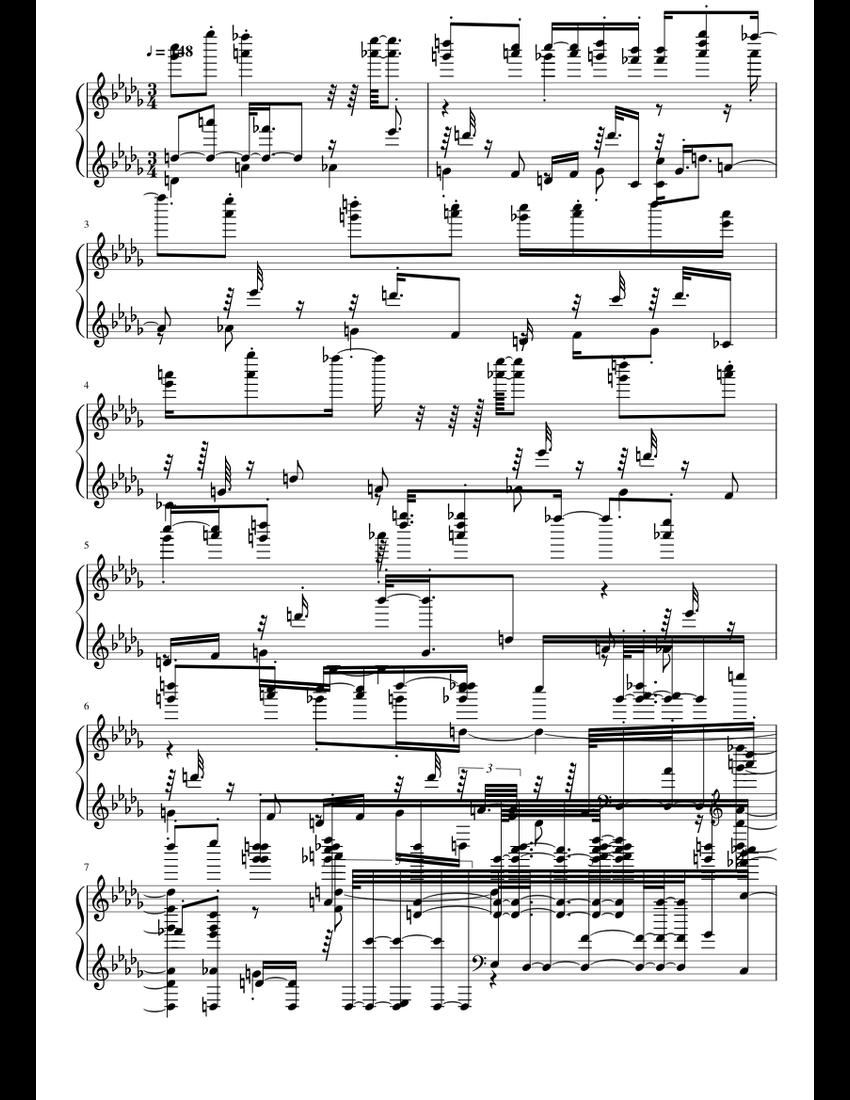mogolovonio.midi sheet music for Piano download free in