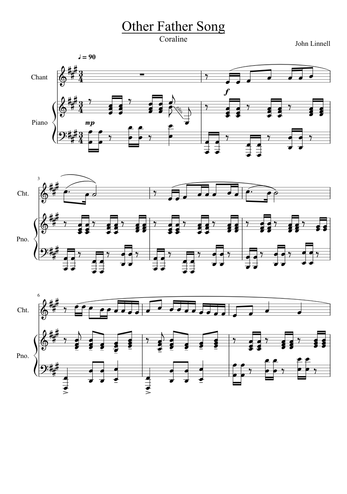 Bruno Coulais Sheet Music Free Download In Pdf Or Midi On Musescore Com