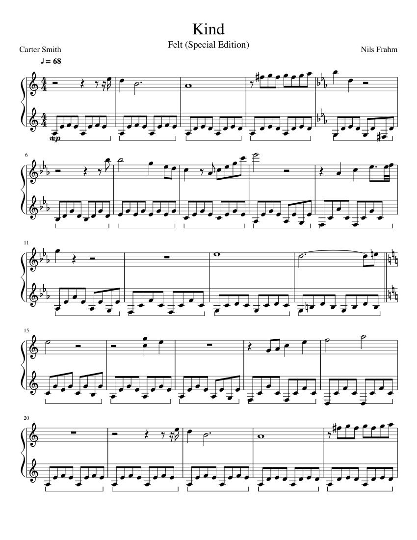 nils frahm sheet music pdf