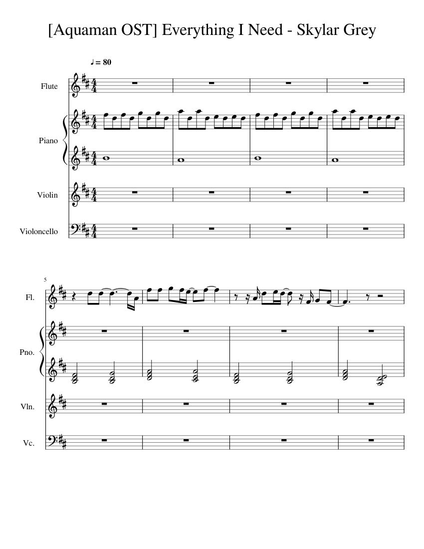 skylar grey - everything i need (aquaman soundtrack) mp3 download