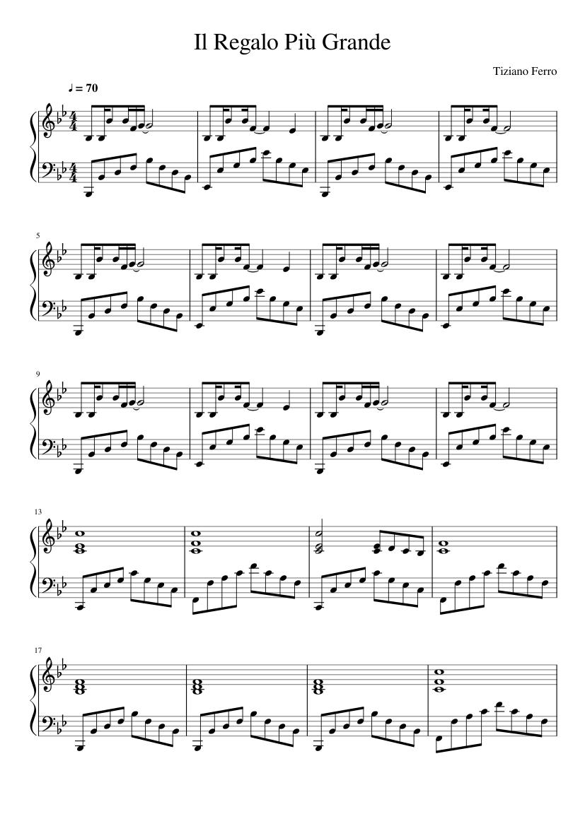 SCARICARE MUSICA TIZIANO FERRO TROPPO BUONO