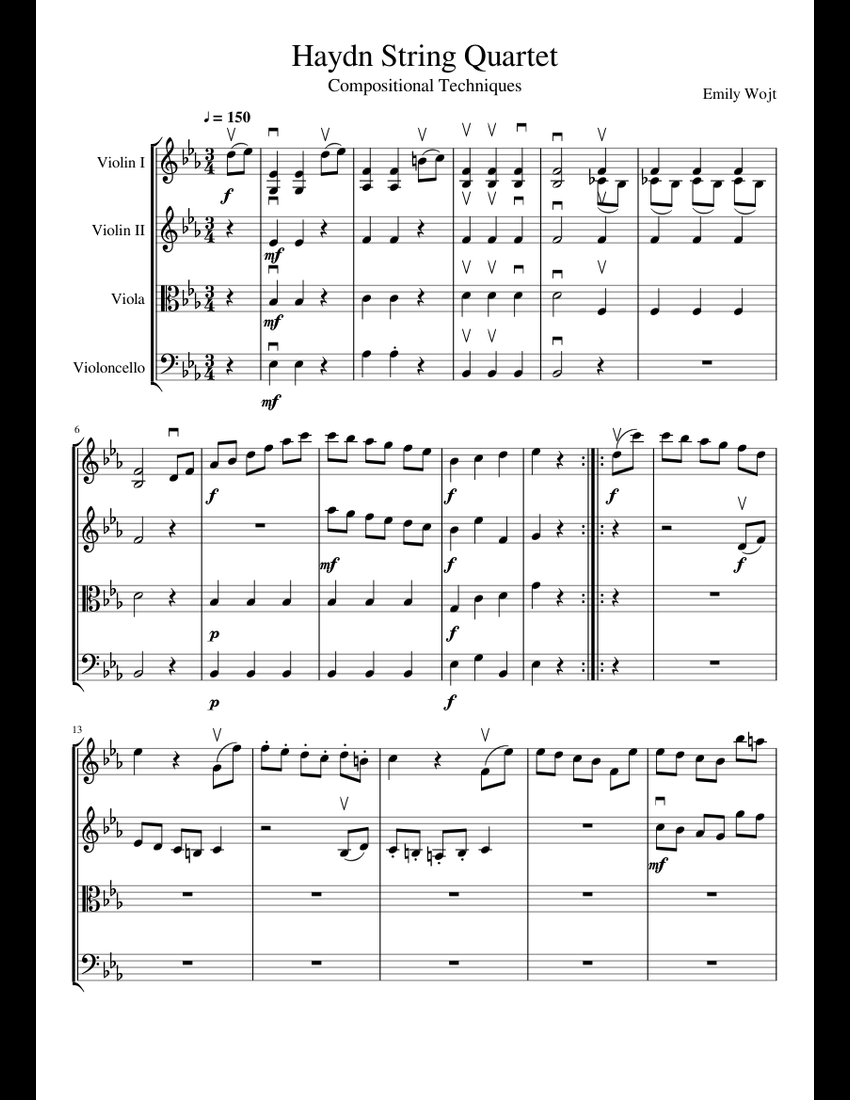 Violin Techniques