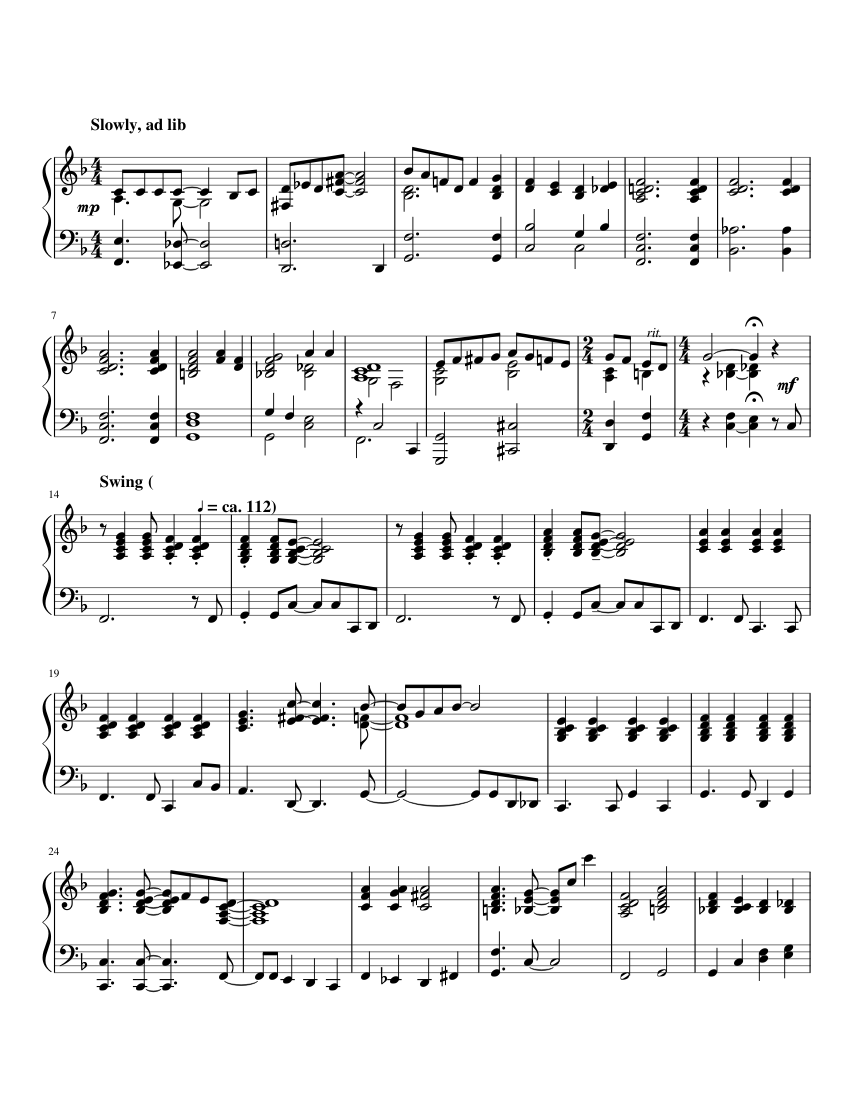 I Don\'t Know Why (Piano) sheet music for Piano download free in PDF ...