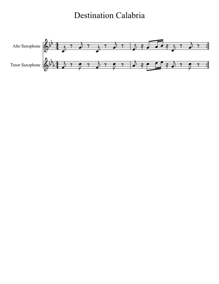 CALABRIA BAIXAR DESTINATION MUSICA
